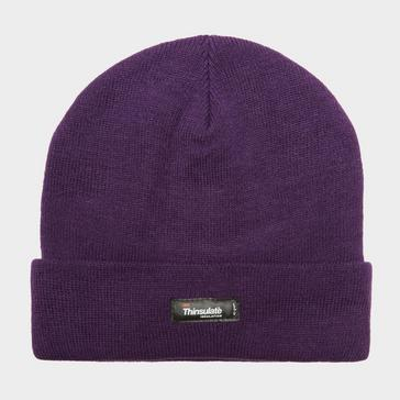 26f323ebcf949 Purple PETER STORM Unisex Thinsulate Beanie Hat