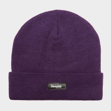 12c7ba01d7ae3 Purple PETER STORM Unisex Thinsulate Knit Beanie ...