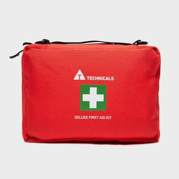 Red Technicals Deluxe First Aid Kit