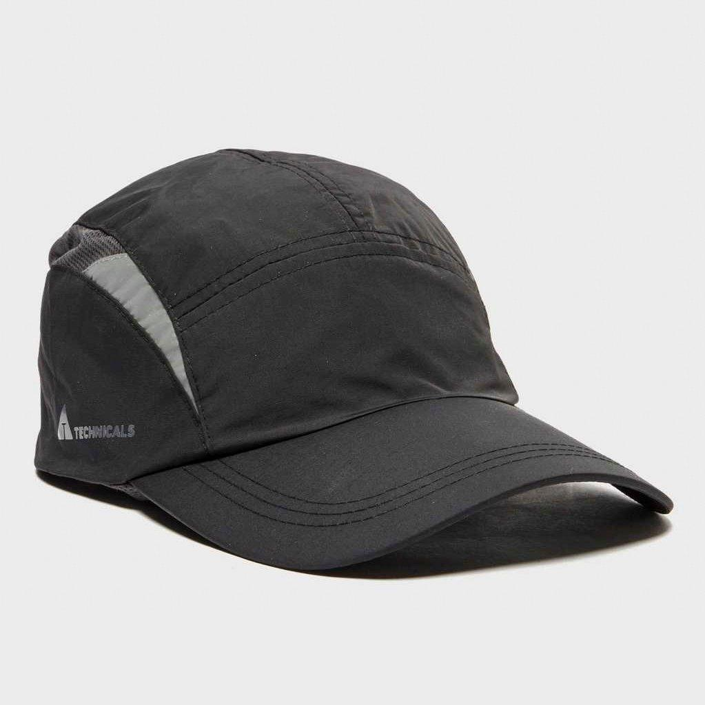 Technicals Technicals Mens Running Cap - Black, Black