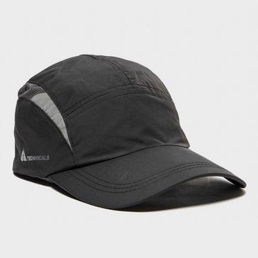 Black Technicals Men's Running Cap