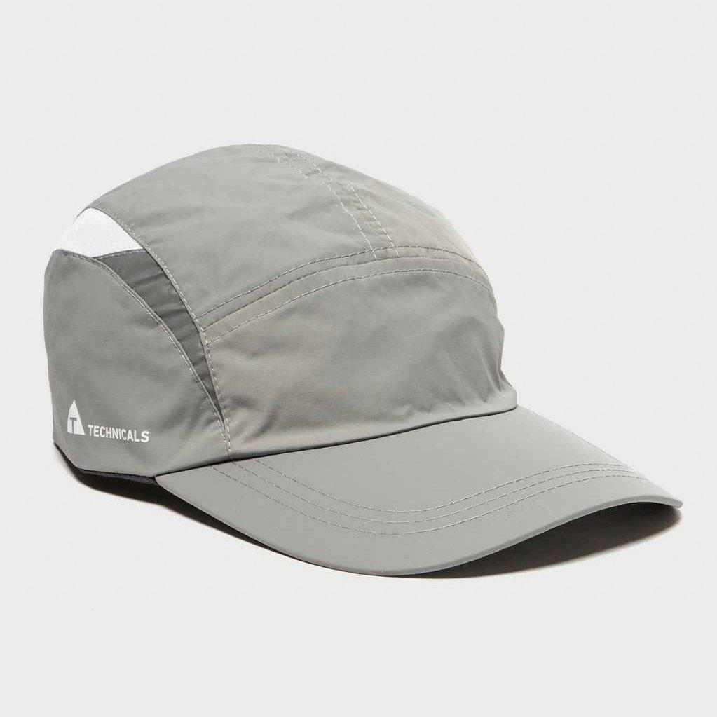 Technicals Technicals Womens Running Cap - Grey, Grey