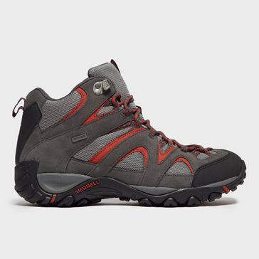 e294a3999782 Black Grey MERRELL Men s Energis Mid Walking Boot ...