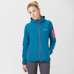COLUMBIA Women's Outdoor Novelty Hooded Fleece