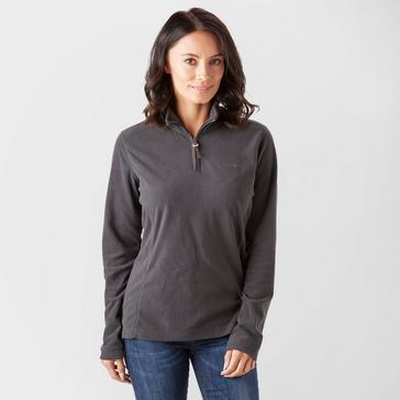 Dark Grey Brasher Women's Bleaberry II Half-Zip Fleece