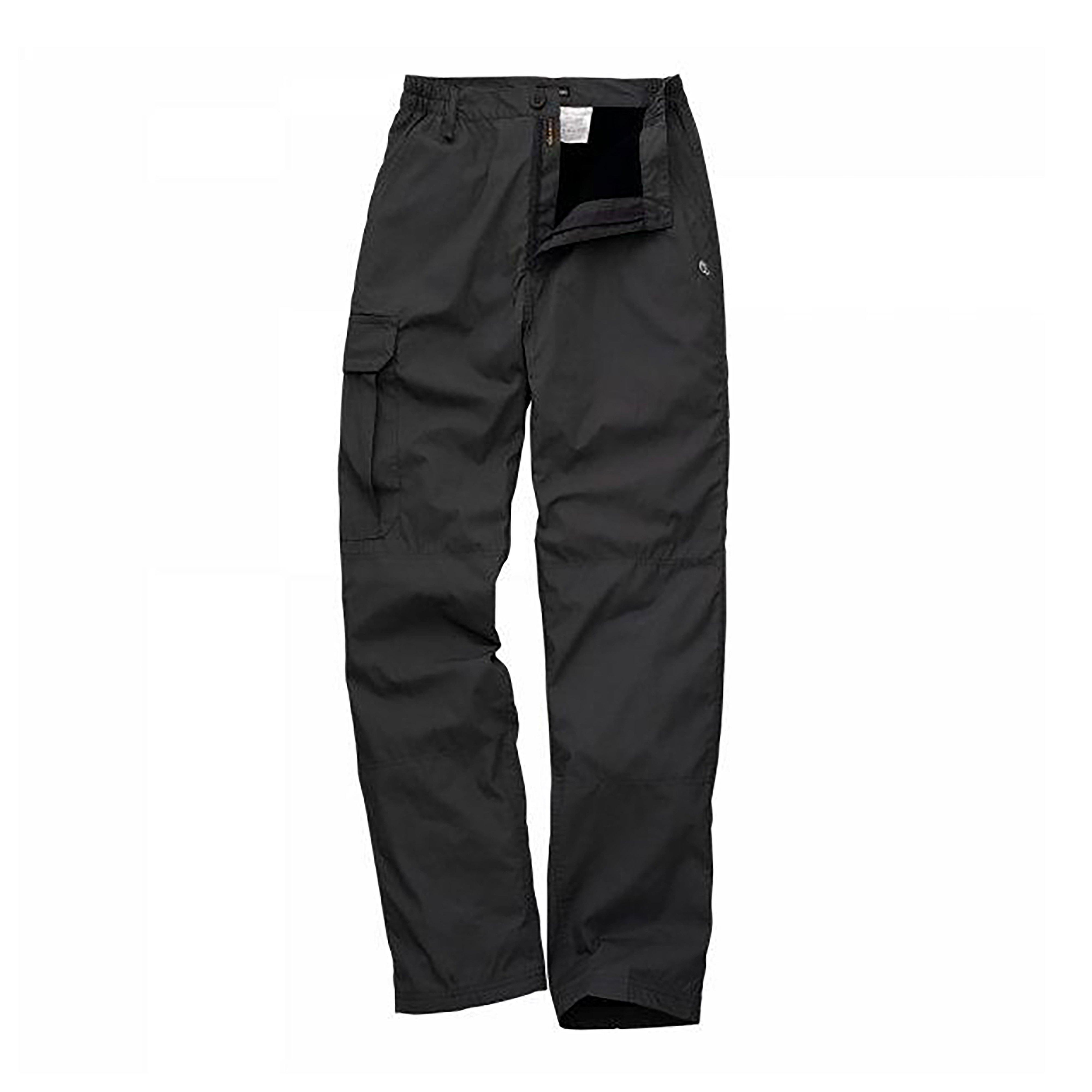 Craghoppers Mens Basecamp Winter Lined Trousers Black