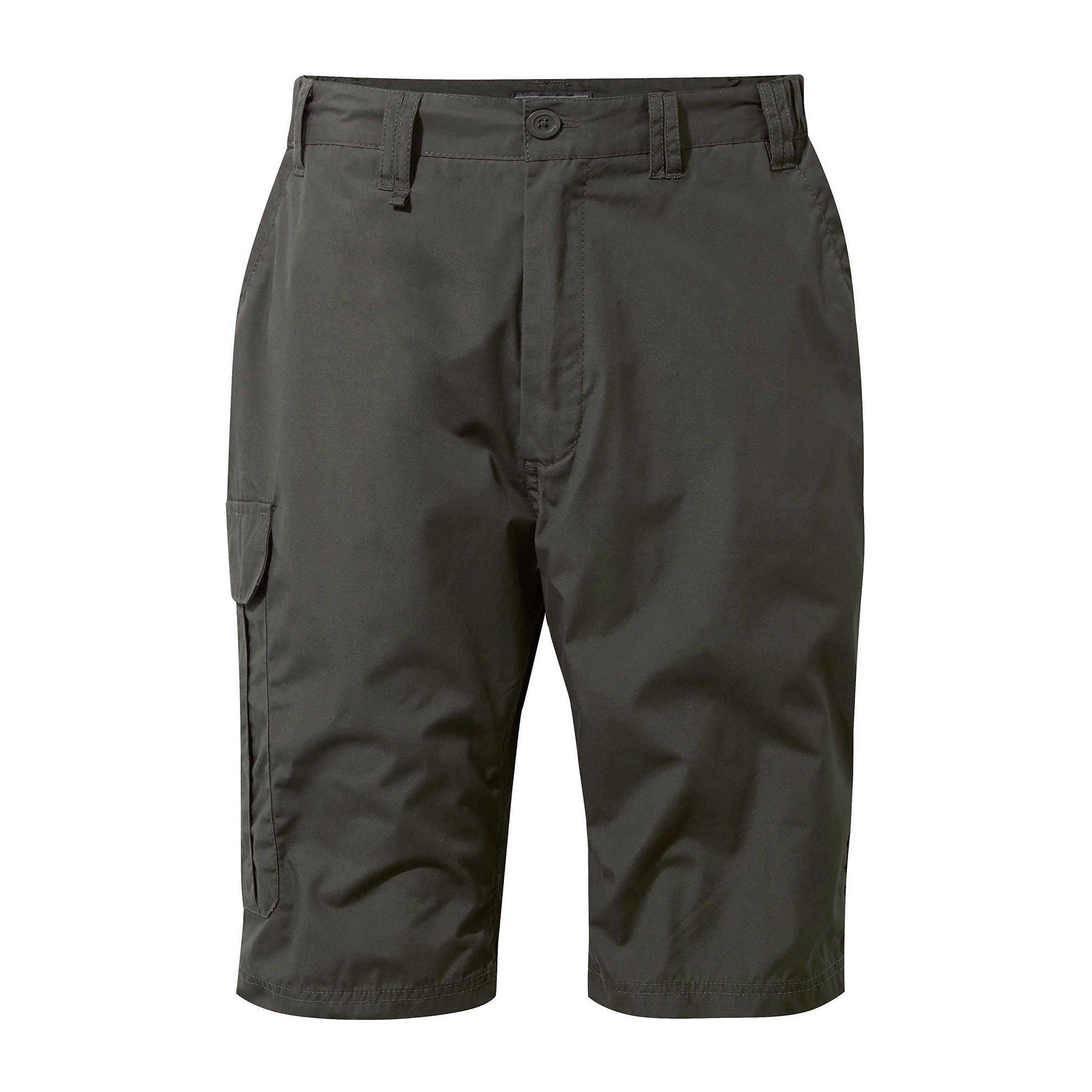 Craghoppers Mens Kiwi Long Shorts Brown