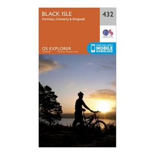 Explorer 432 Black Isle Map With Digital Version