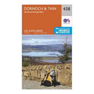 Explorer 438 Dornoch & Tain Map With Digital Version