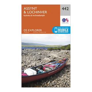 Explorer 442 Assynt & Lochinver Map With Digital Version