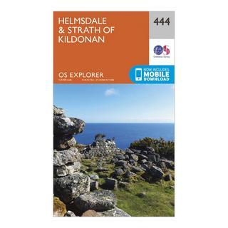 Explorer 444 Helmsdale & Strath of Kildonan Map With Digital Version
