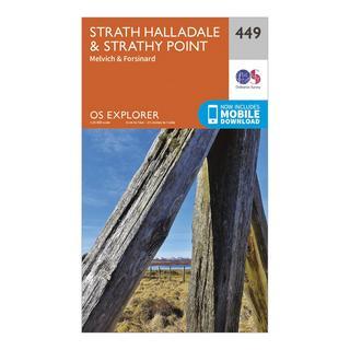 Explorer 449 Strath Halladale & Strathy Point Map With Digital Version