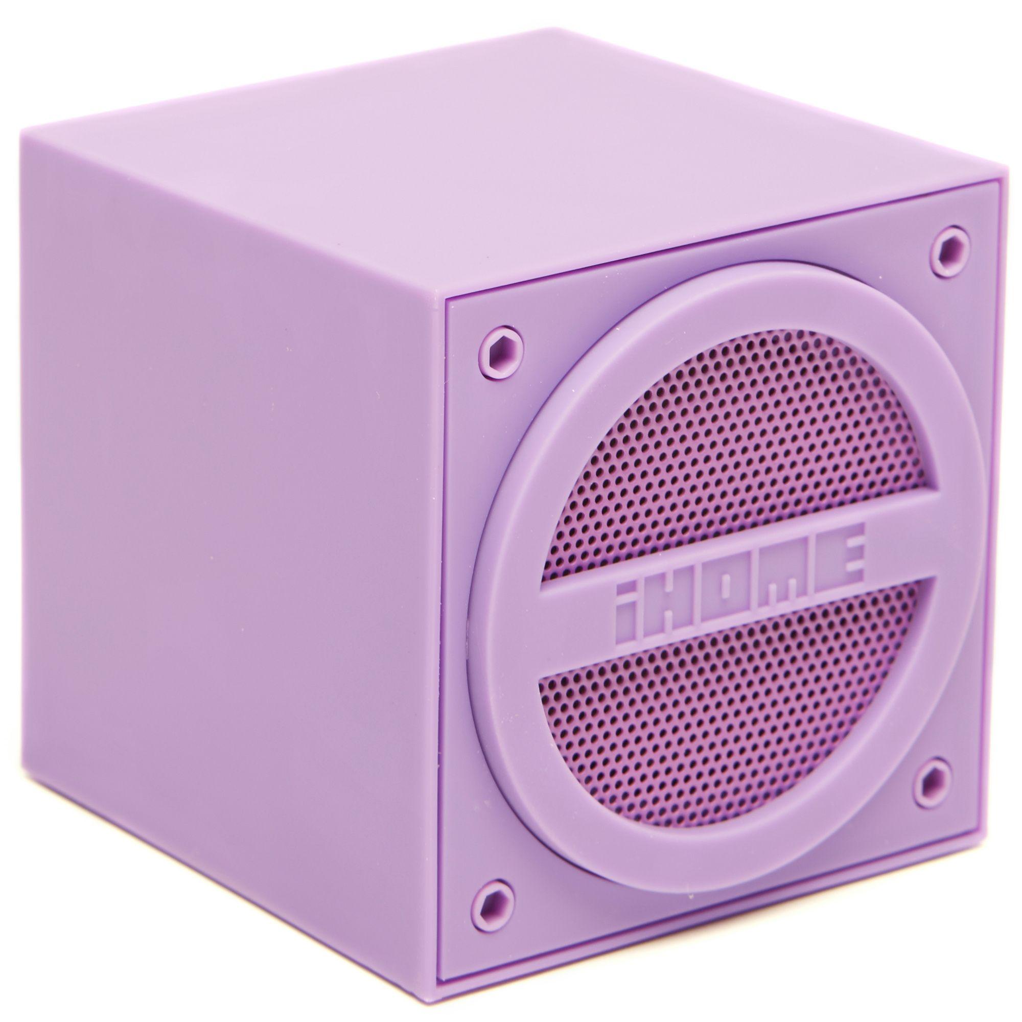 IHOME Wireless Rechargeable Mini Speaker Cube