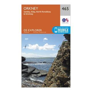 Explorer 465 Orkney Map With Digital Version