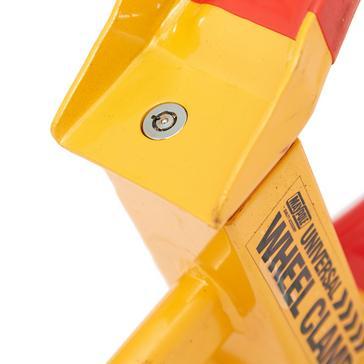 Yellow Maypole Universal Wheel Clamp