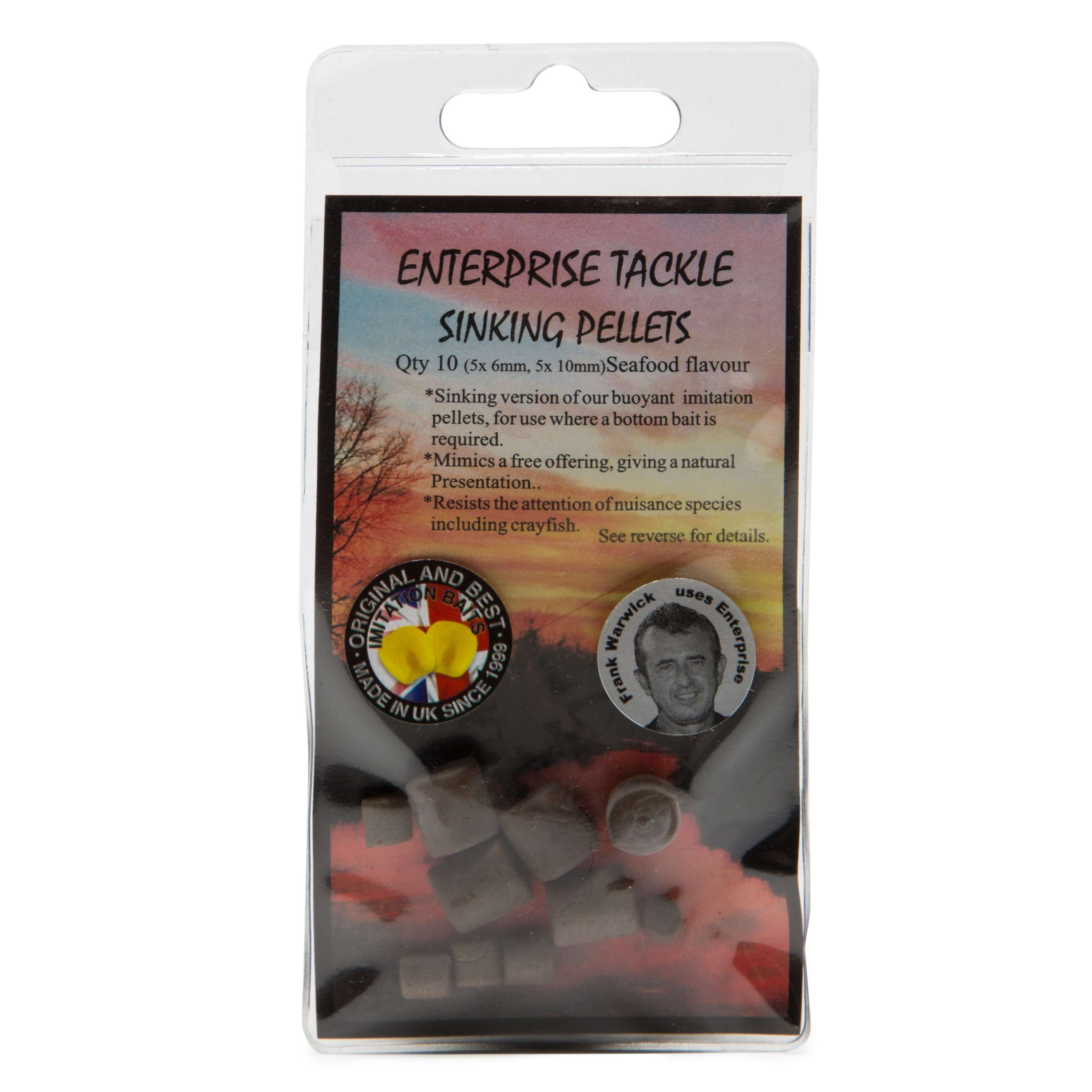 ENTERPRISE TACK Sinking Pellets