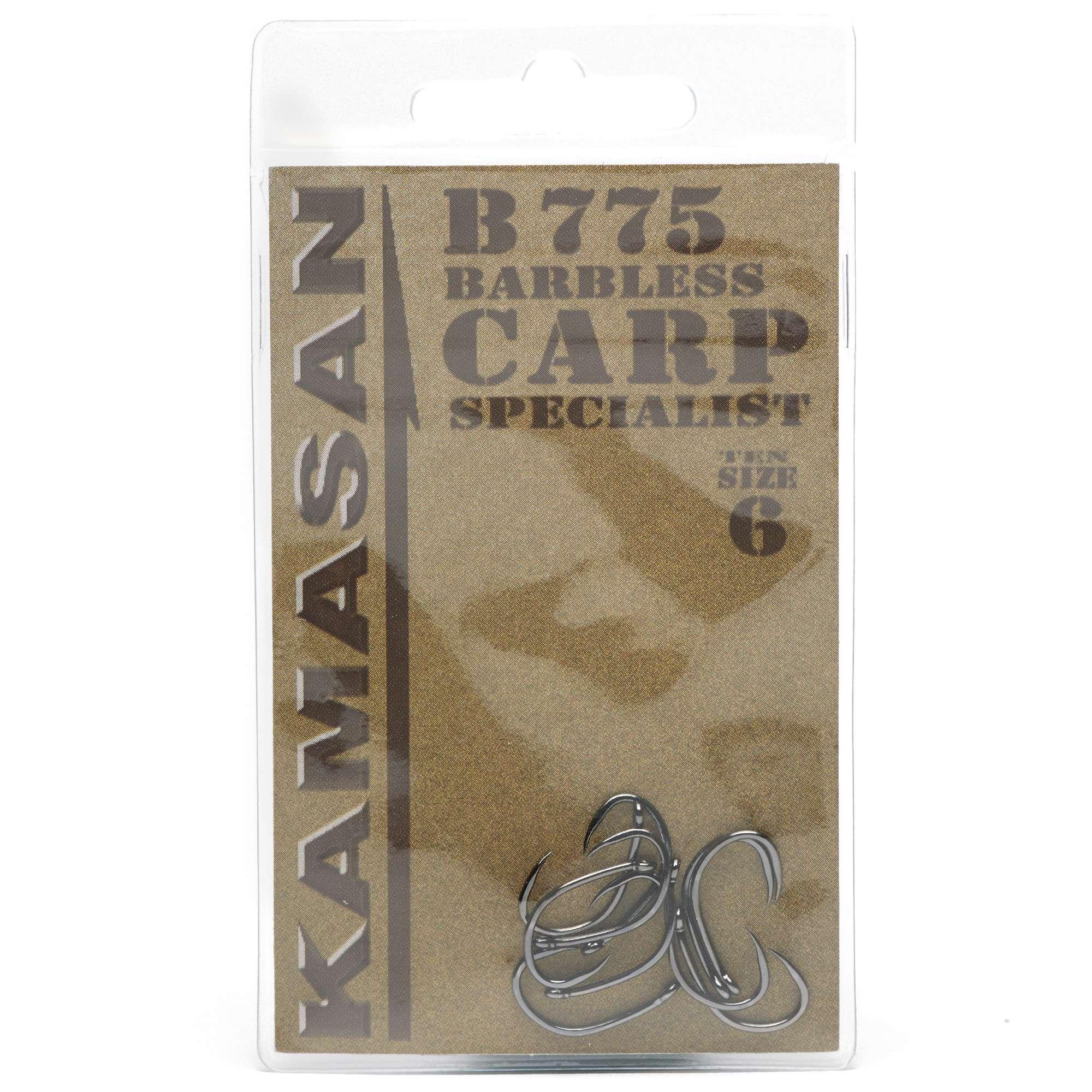 KAMASAN B775 Carp Fishing Hooks - Size 6