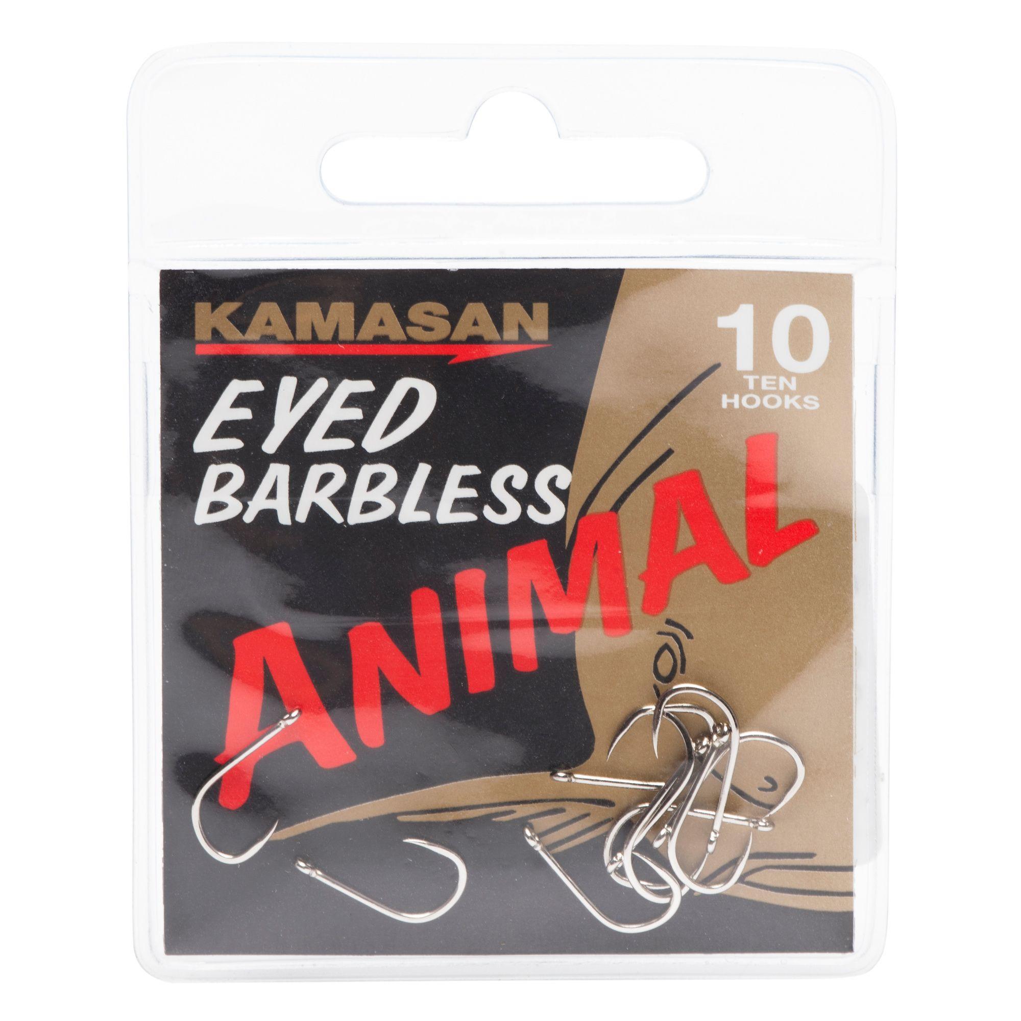 KAMASAN Animal Fishing Hooks - Size 10
