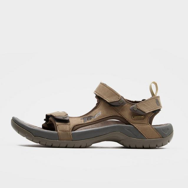 e3560f12e Brown TEVA Men s Tanza Leather Sandal image 1