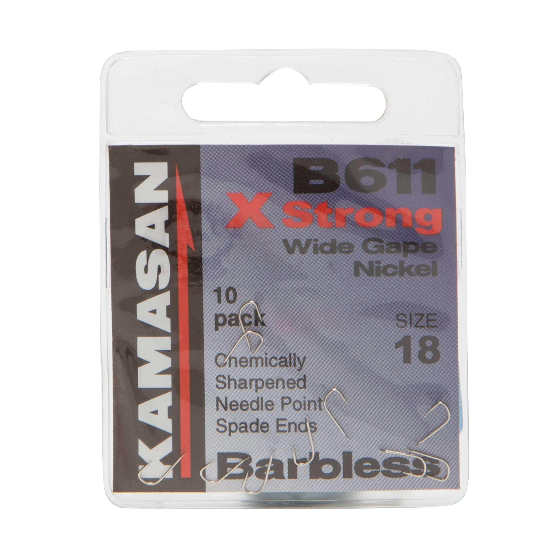 KAMASAN B611 Spade Fishing Hooks - Size 18
