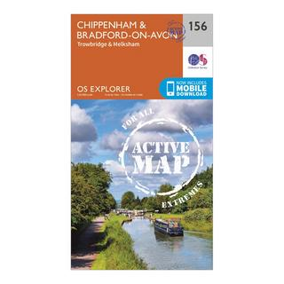 Explorer Active 156 Chippenham & Bradford-on-Avon Map With Digital Version