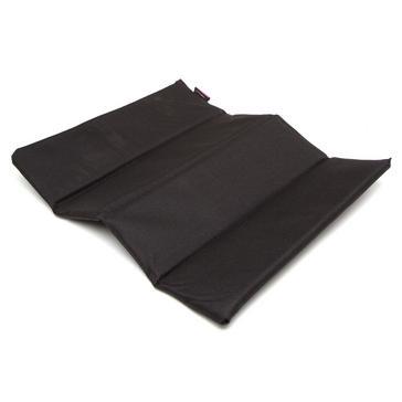 Black Trekmates Folding Sit Mat