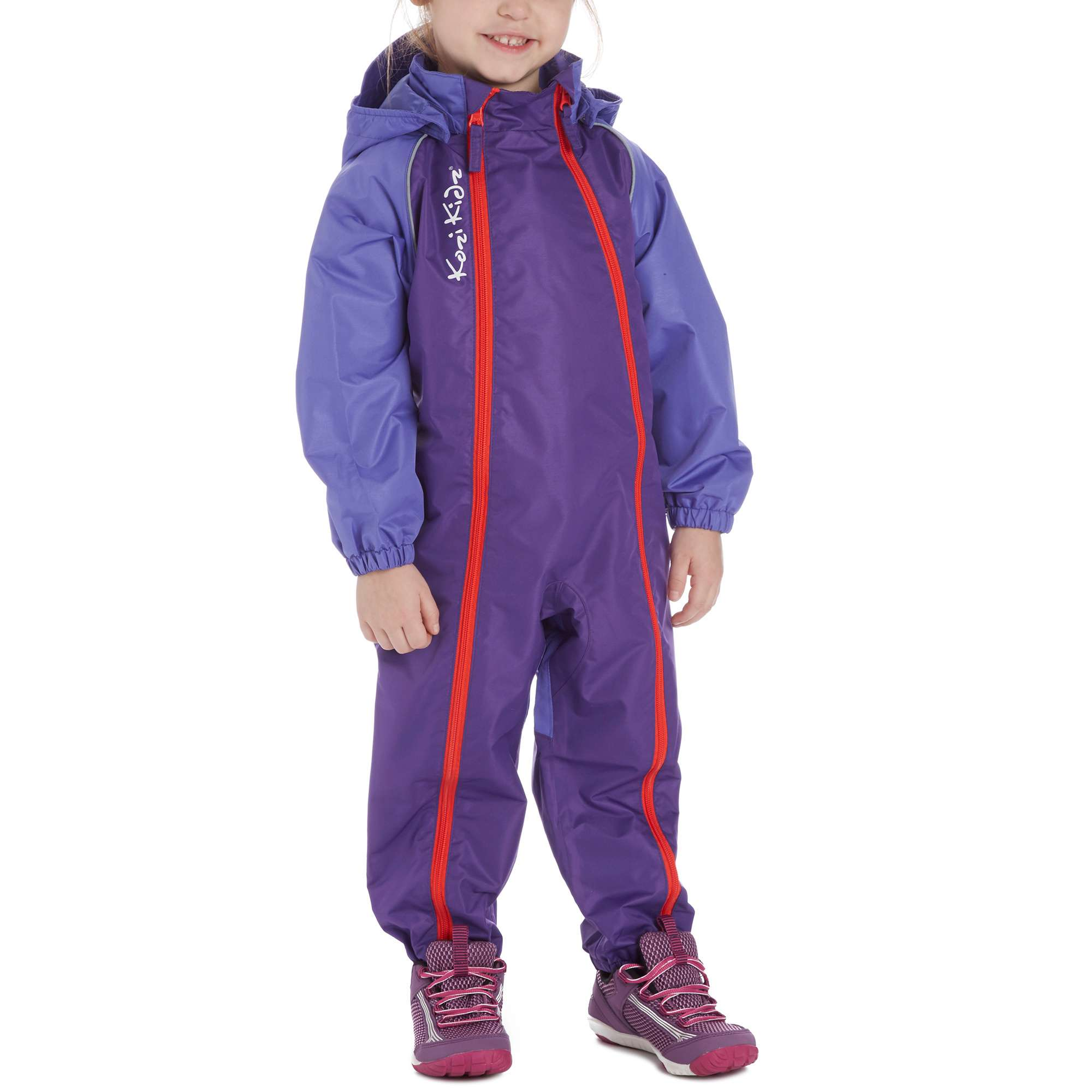 KOZI KIDZ Girls' Waterproof All-in-One Jumpsuit