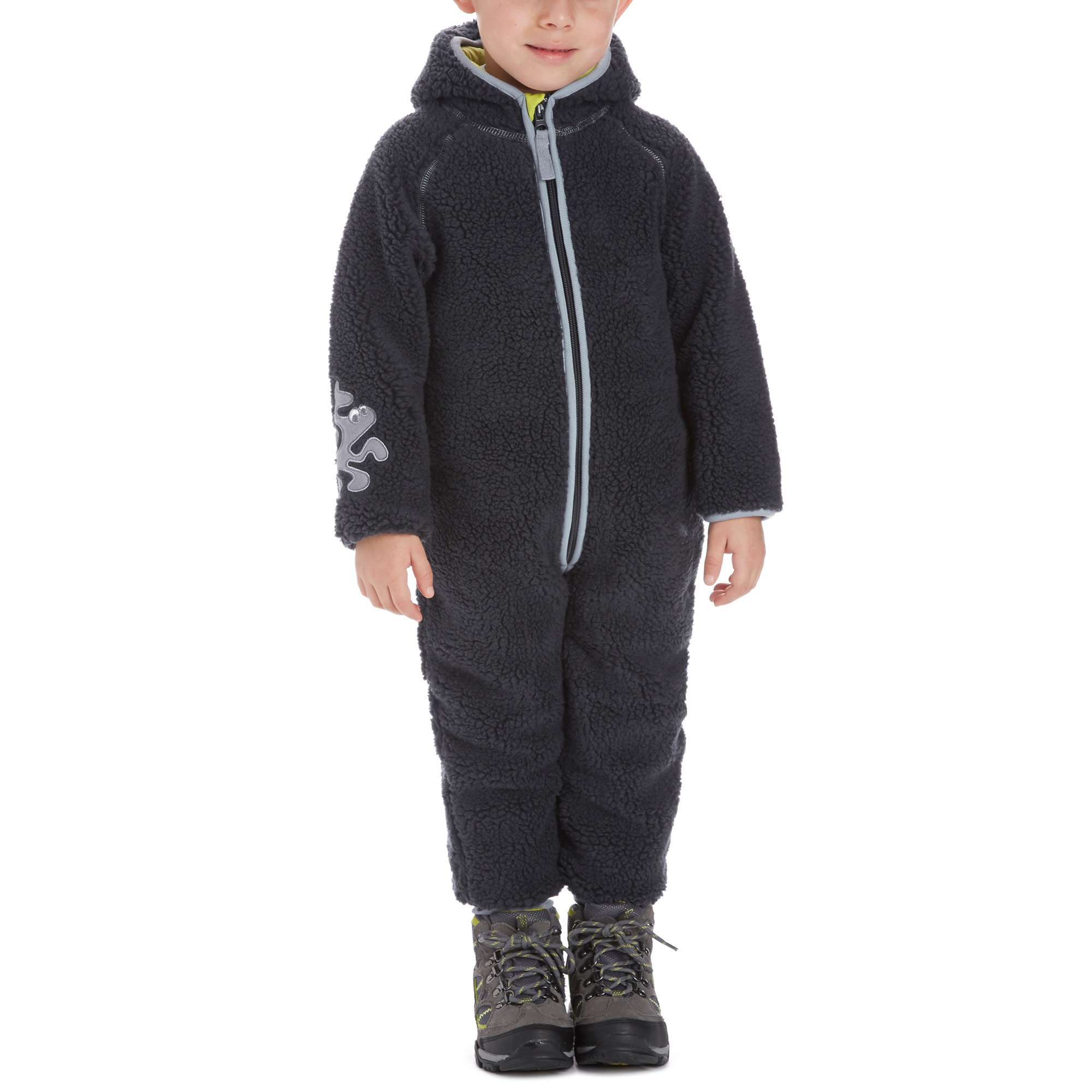 KOZI KIDZ Boys' Nalle Softpile Fleece All in One