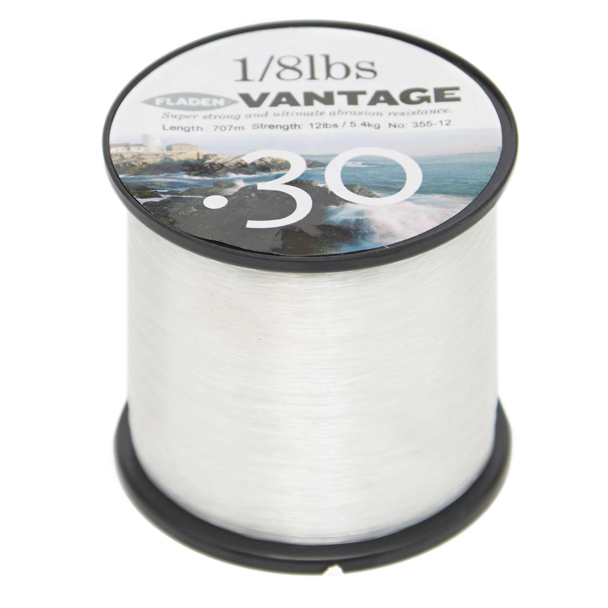 FLADEN Vantage Pro 12lb Clear Fishing Line