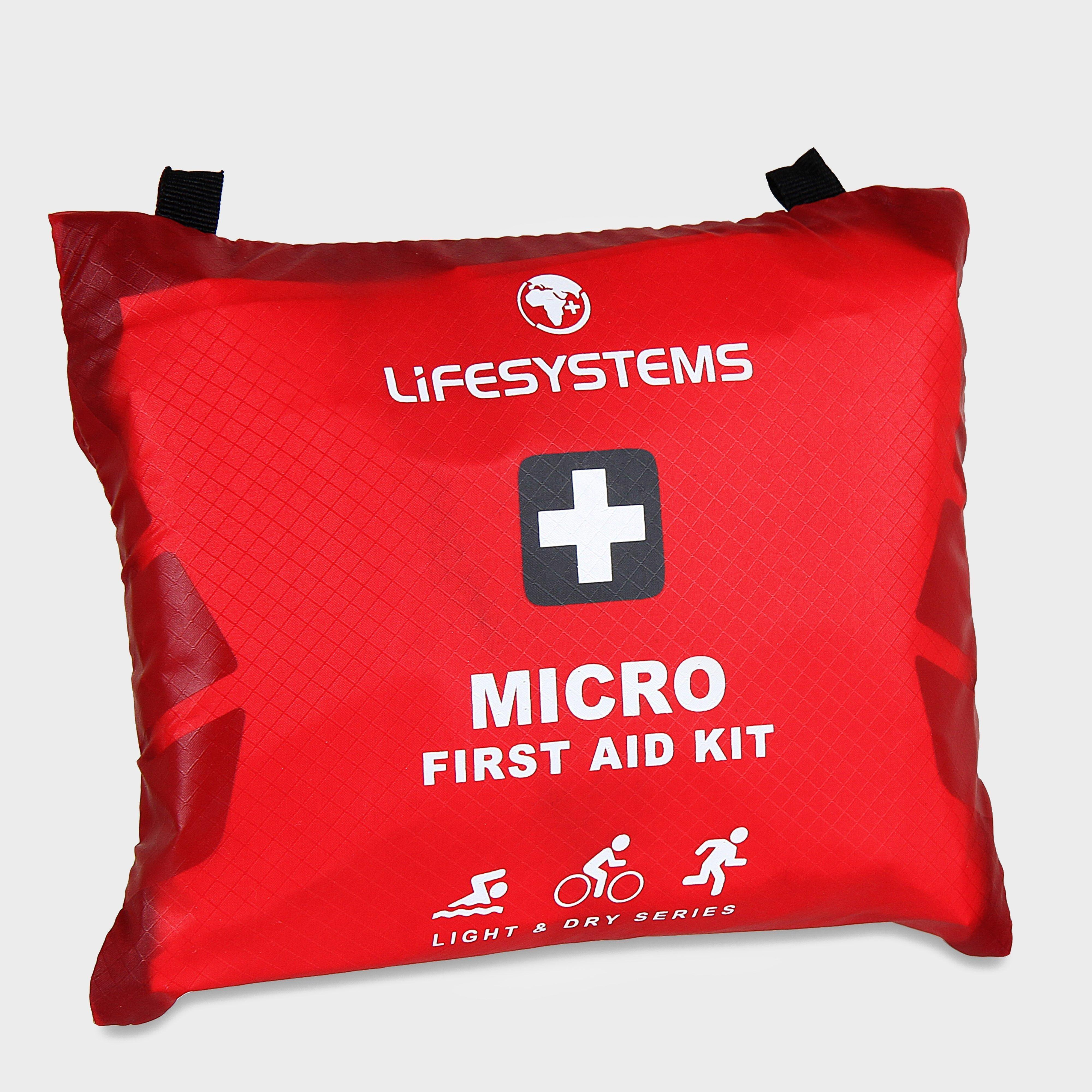 Lifesystems Lifesystems Light & Dry Micro First Aid Kit - Red, Red