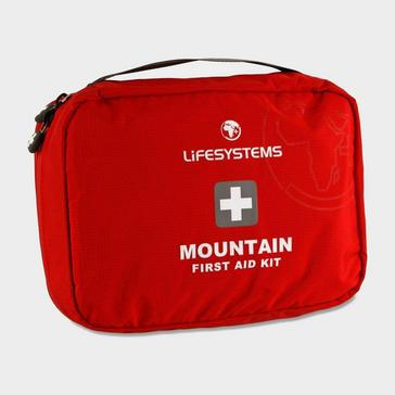 Red Lifesystems Mountain First Aid Kit
