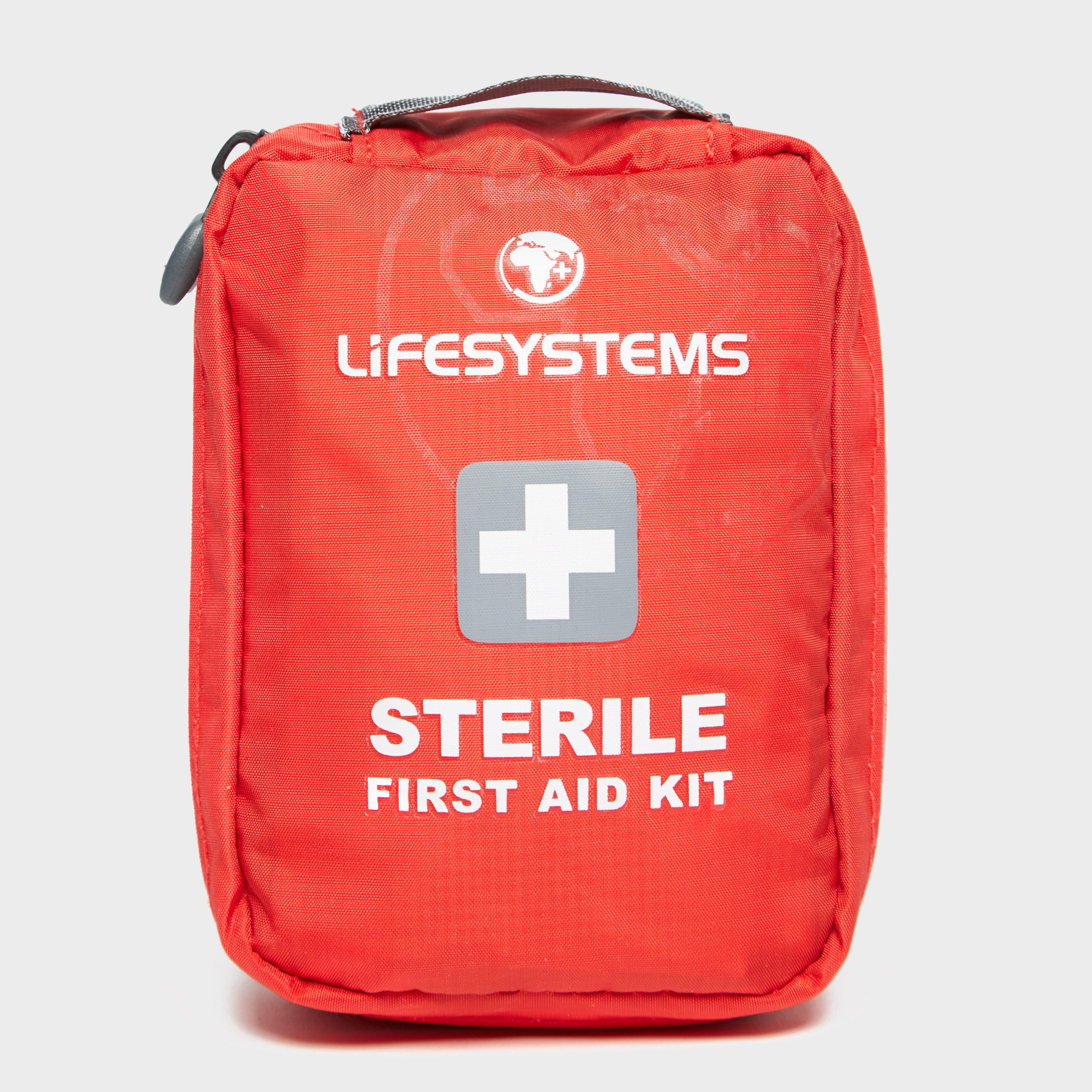 Lifesystems Lifesystems Sterile First Aid Kit - Red, Red