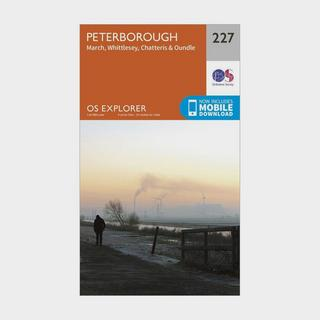 Explorer 227 Peterborough Map With Digital Version