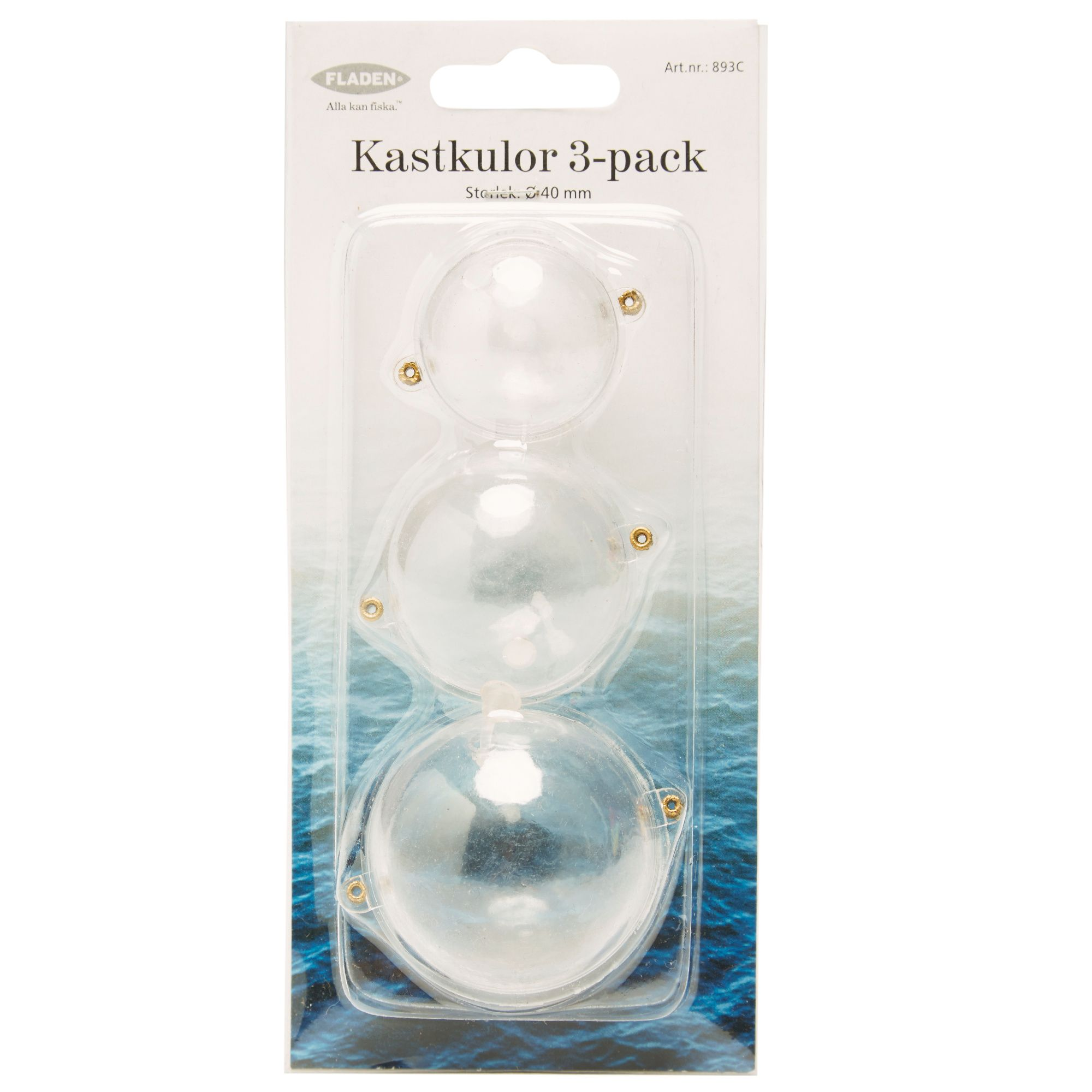 FLADEN Clear Bubble Float 3 Pack
