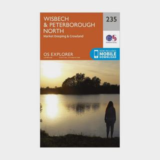 Explorer 235 Wisbech & Peterborough North Map With Digital Version