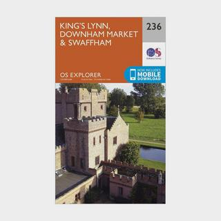 Explorer 236 King's Lynn, Downham Market & Swaffham Map With Digital Version