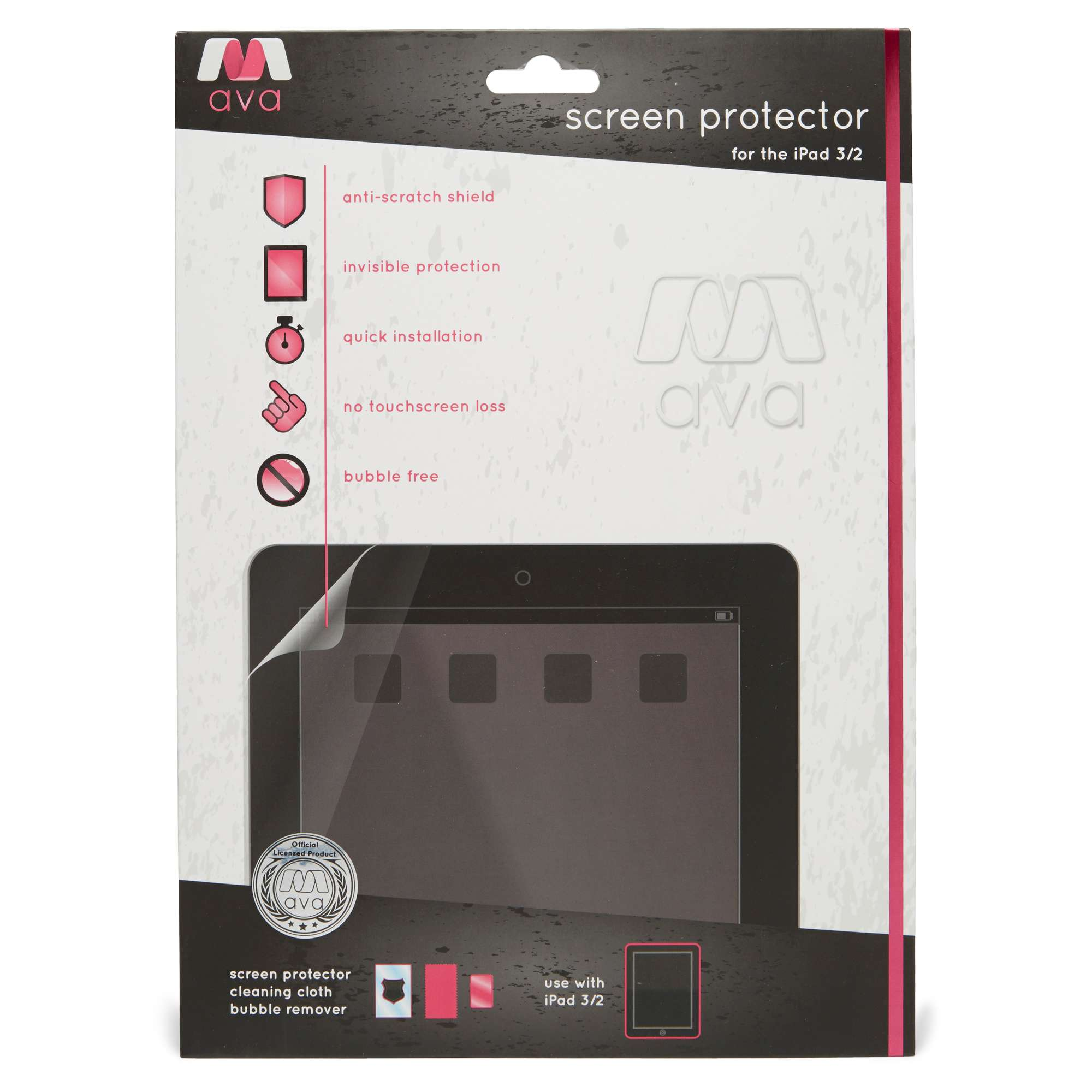 BOYZ TOYS iPad 2 & 3 Screen Protector