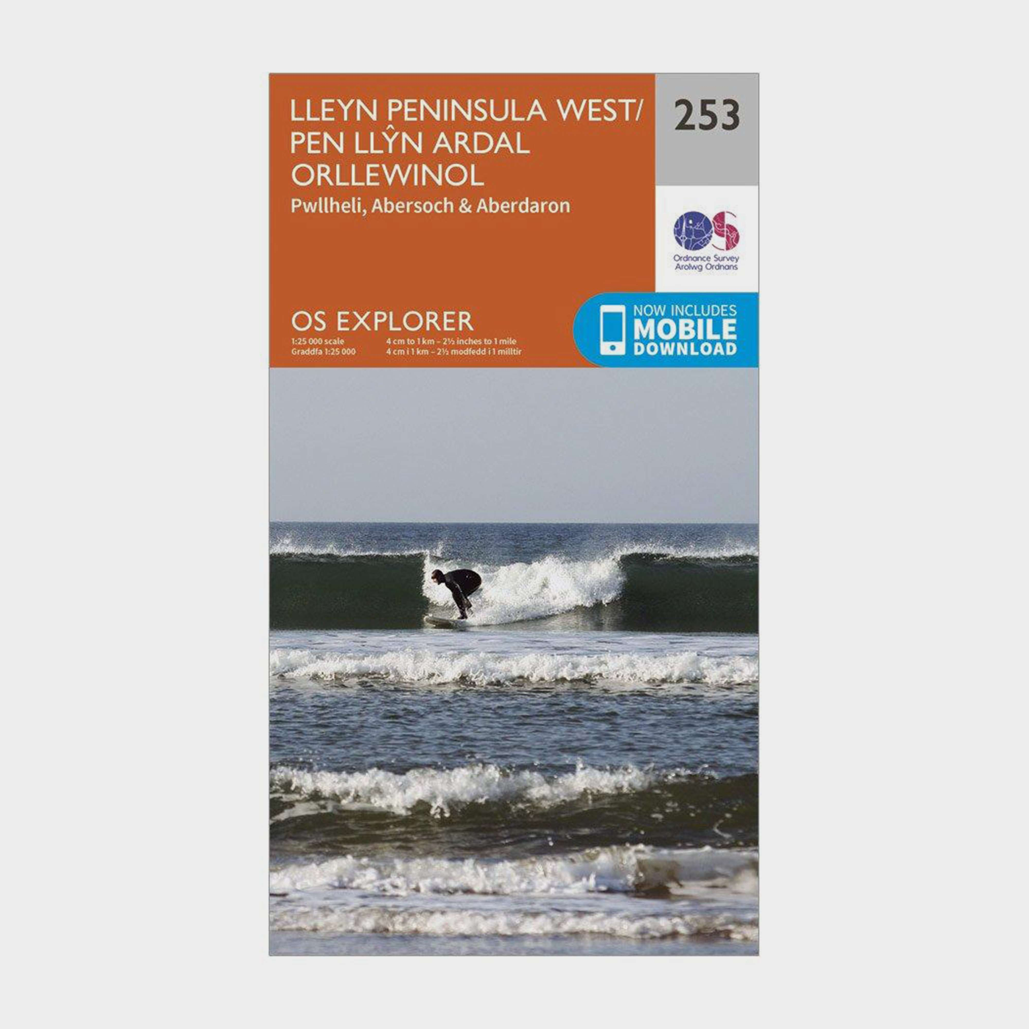 ORDNANCE SURVEY Explorer 253 Lleyn Peninsula West Map With Digital Version
