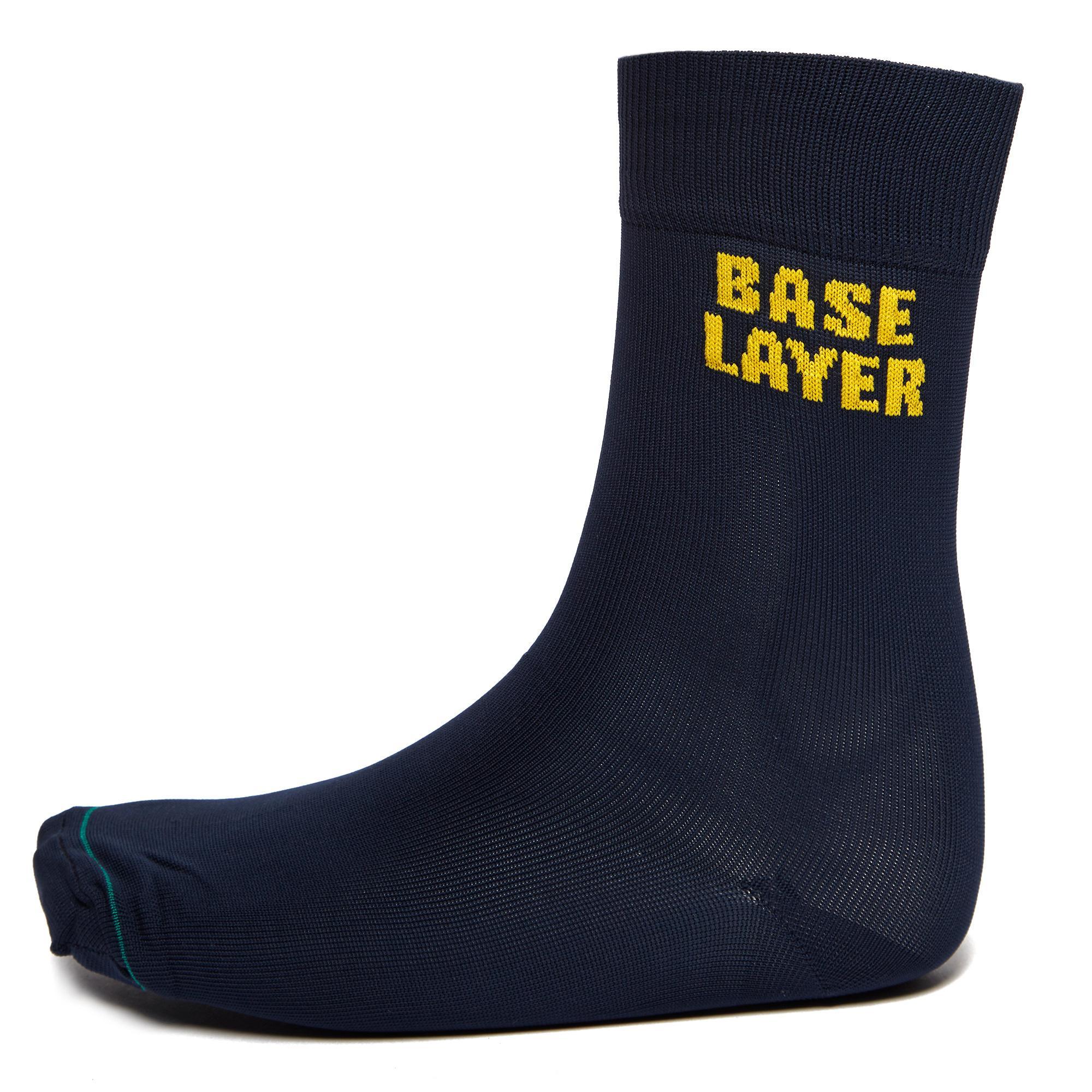 Image of 1000 Mile Tactel Baselayer Sock, Navy