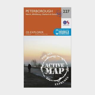 Explorer Active 227 Peterborough Map With Digital Version