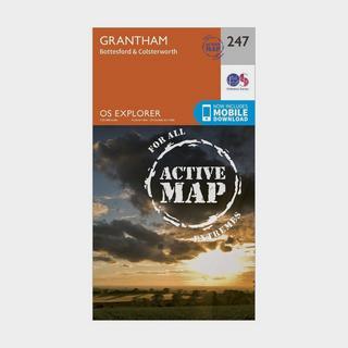 Explorer Active 247 Grantham Map With Digital Version