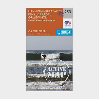Explorer Active 253 Lleyn Peninsula West Map With Digital Version