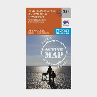Explorer Active 254 Lleyn Peninsula East Map With Digital Version