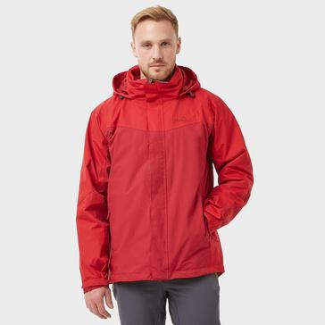 Red Peter Storm Men's Lakeside 3 in 1 Jacket