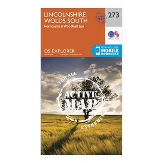 Explorer Active 273 Lincolnshire Wolds South Map With Digital Version