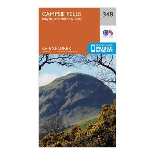 Explorer 348 Campsie Fells Map With Digital Version