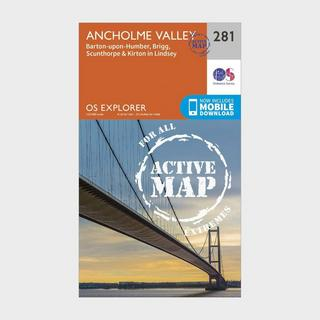 Explorer Active 281 Ancholme Valley Map With Digital Version