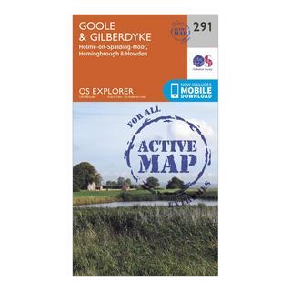 Explorer Active 291 Goole & Gilberdyke Map With Digital Version