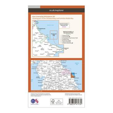 Orange Ordnance Survey OS Explorer Map Active