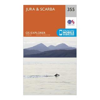 Explorer 355 Jura & Scarba Map With Digital Version